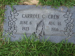Carroll G Crew