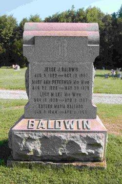 Mary Ann <i>Peterman</i> Baldwin