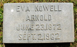 Eva <i>Nowell</i> Arnold