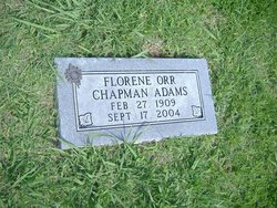 Florene <i>Orr</i> Adams