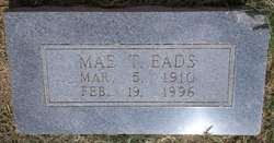 Mae T <i>Willoughby</i> Eads