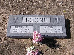Altha Lou <i>Karl</i> Boone