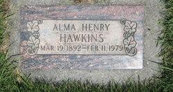 Alma Henry Hawkins