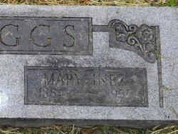 Mary Inez <i>Halsey</i> Skaggs