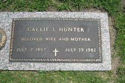 Callie L Hunter