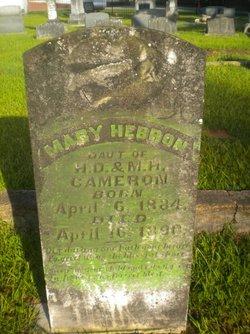 Mary Hebron Cameron