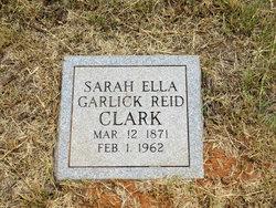 Sarah Ella <i>Garlick</i> Clark