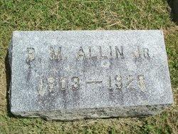 B M Allin, Jr