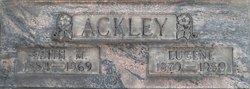 Edith M Ackley