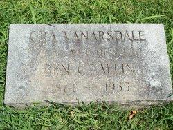 Ora Ella <i>Vanarsdale</i> Allin