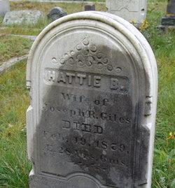 Harriet Hattie B. <i>McFarland</i> Giles