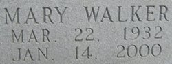 Mary <i>Walker</i> Davis