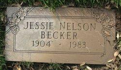 Jessie Belle Nelson <i>Kirtley</i> Becker