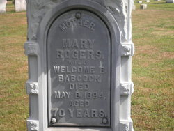 Mary <i>Rogers</i> Babcock