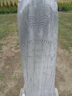 J F Brown
