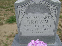 Malissa Jane <i>Bates</i> Brown