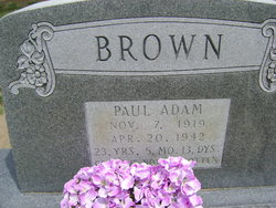 Paul Adam Brown