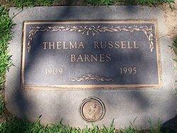Thelma <i>Russell</i> Barnes