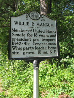 Willie Person Mangum
