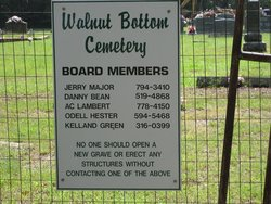 Walnut Bottom Cemetery