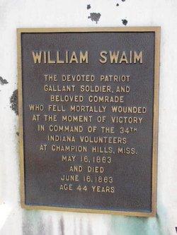 William Achsah Swaim