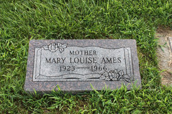 Mary Louise <i>Schrock</i> Ames