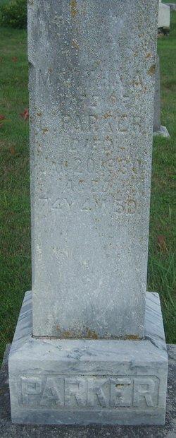 Martha Ann <i>Ford</i> Parker