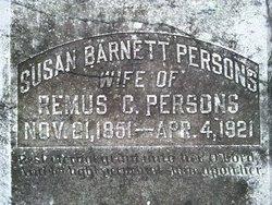 Susan Frances <i>Barnett</i> Persons