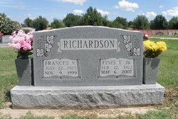 Frances Virginia <i>Eubanks</i> Richardson