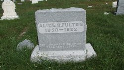 Alice R <i>Hulburd</i> Fulton