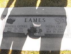 Nedra <i>Cole</i> Eames