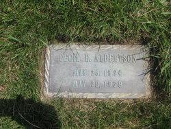 Cecil Edward Albertson