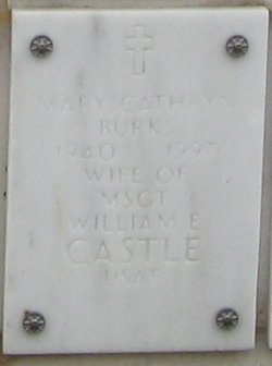 Mary Cathryn <i>Burks</i> Castle