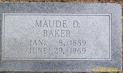 Maude D. Baker