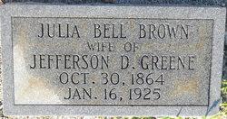 Julia Belle <i>Brown</i> Greene