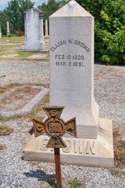 Elijah Webb Brown, Sr