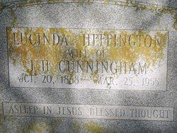 Lucinda <i>Heffington</i> Cunningham