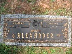 Willard R Alexander