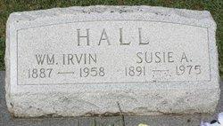 Susie A <i>Miller</i> Hall