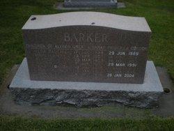 Alfred G Barker