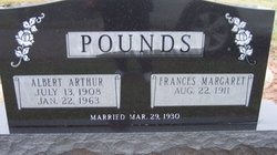 Frances Margaret <i>Hardwick</i> Pounds
