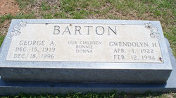 Gwendolyn Mae <i>Hendrix</i> Barton