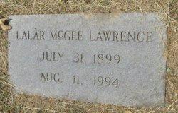 Lalar <i>McGee</i> Lawrence
