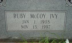Ruby <i>McCoy</i> Ivy