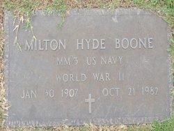 Milton Hyde Boone