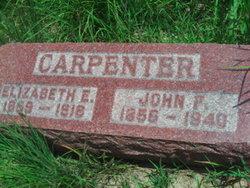 Elizabeth Eleanor <i>Hobson</i> Carpenter