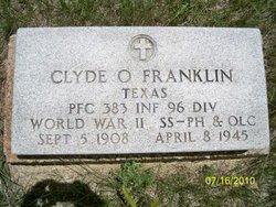 Clyde O Franklin