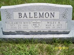 Wiley R Balemon