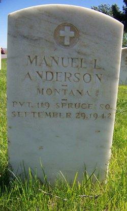 Manuel L Anderson