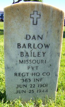 Dan Barlow Bailey